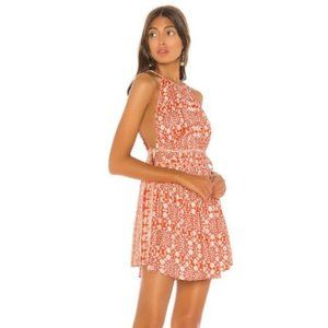 NWT Free People Mid Summers Day Cayenne Combo